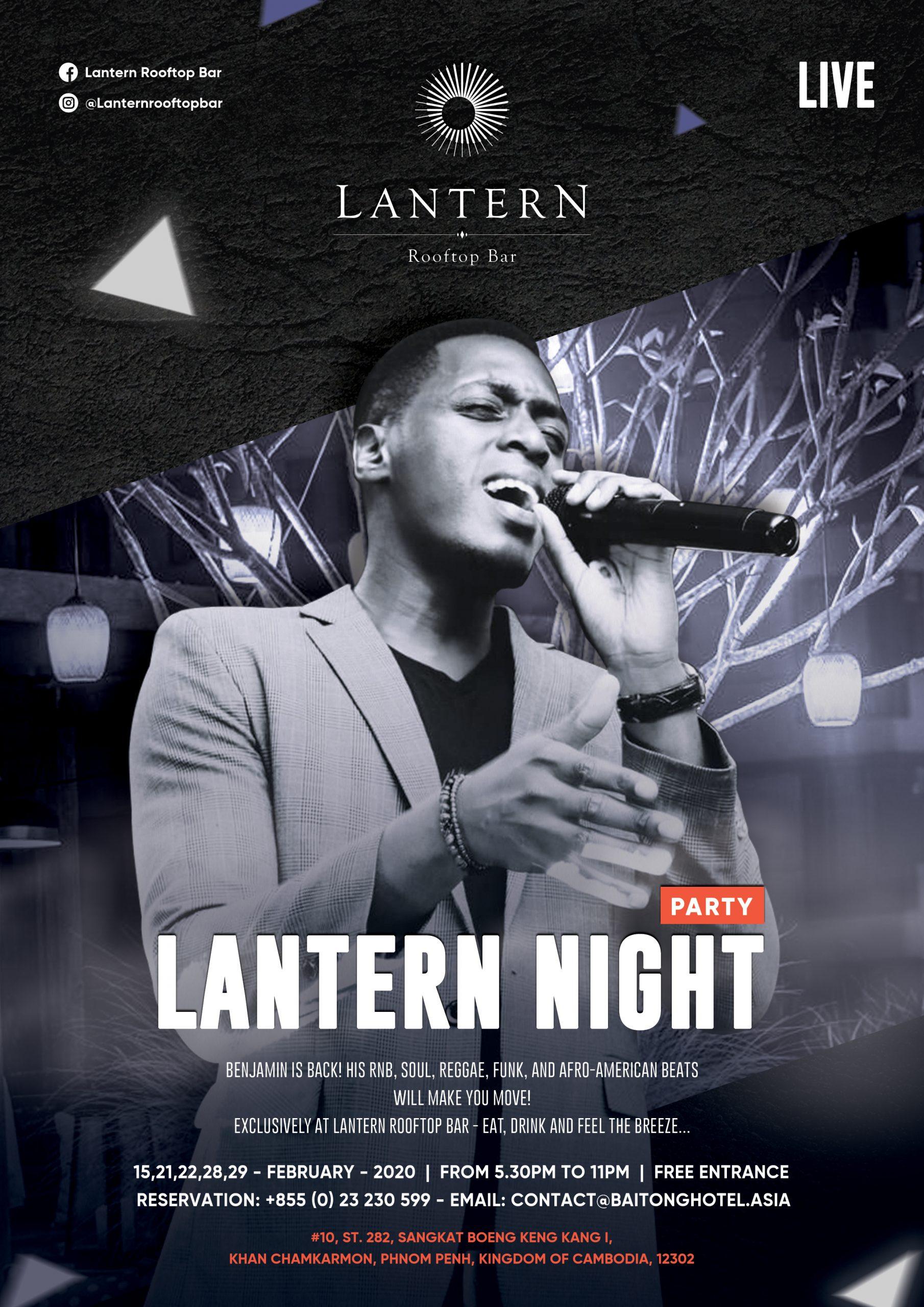 LANTERN NIGHT – BENJAMIN