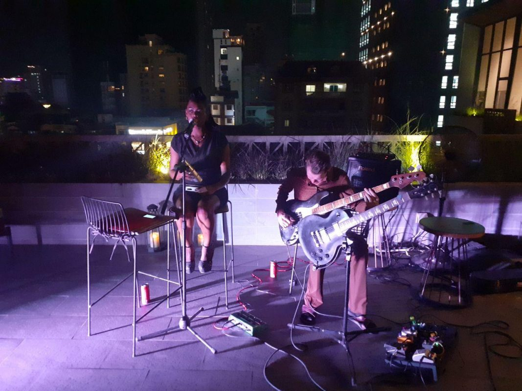 Lantern Rooftop Bar Princess Netashiva and The Soma Jazz Band