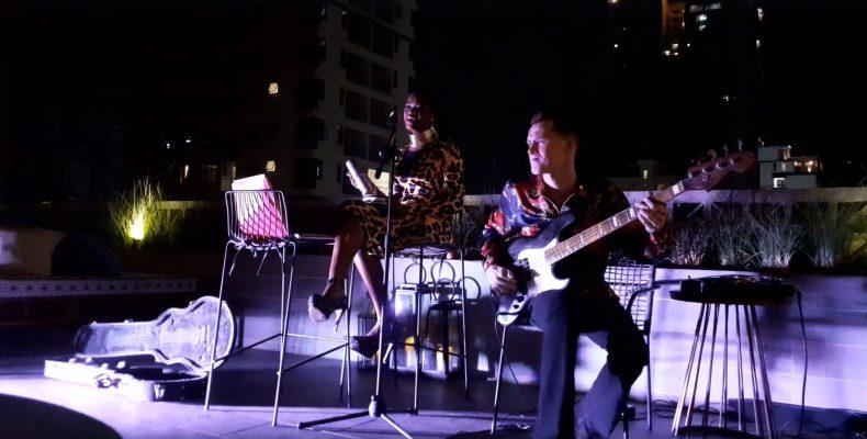 Lantern Rooftop Bar Princess Netashiva and The Soma Jazz Band