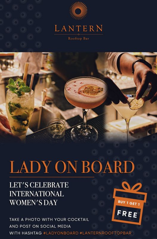 Lantern Rooftop Bar - Lady On Board