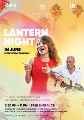 Lantern June Nights - Kiss Bang Bong - Tuesday to Sunday!