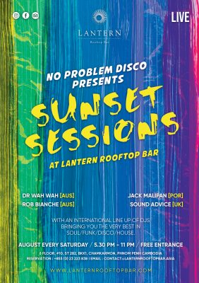 Sunset Sessions at Lantern Rooftop Bar - No problem Disco