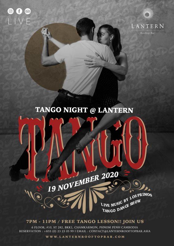 Tango Night @ Lantern - 19 November 2020