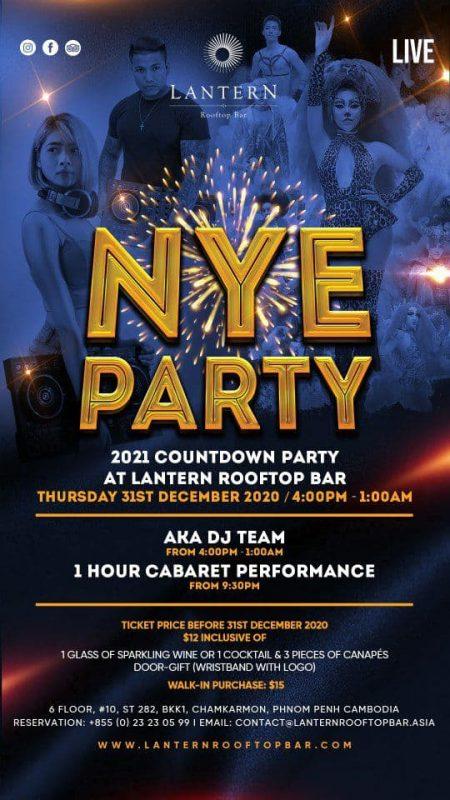 New Year Celebration at Lantern Rooftop Bar
