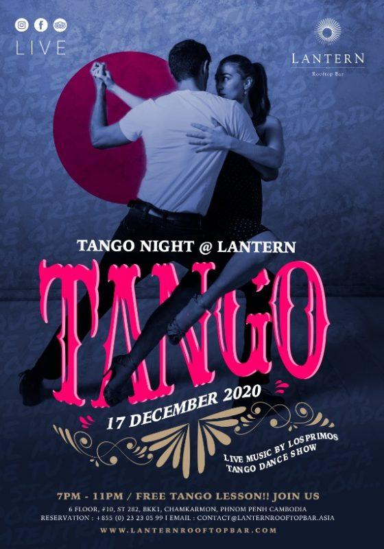 Tango Night @ Lantern Rooftop Bar