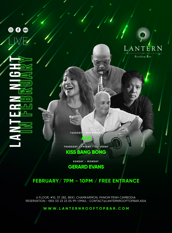 February Lantern Nights - Live music 7 days a week!