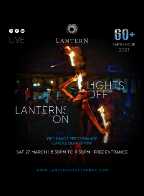 Baitong's Earth Hour on Sat 27 March