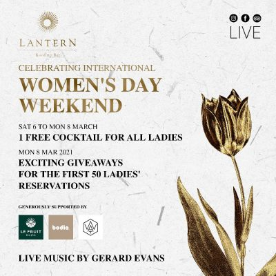 International Women's Day Weekend - 6 to 8 March 2021