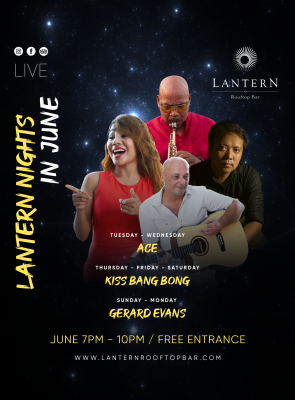 Lantern Rooftop Bar Phnom Penh - live music 7 days a week
