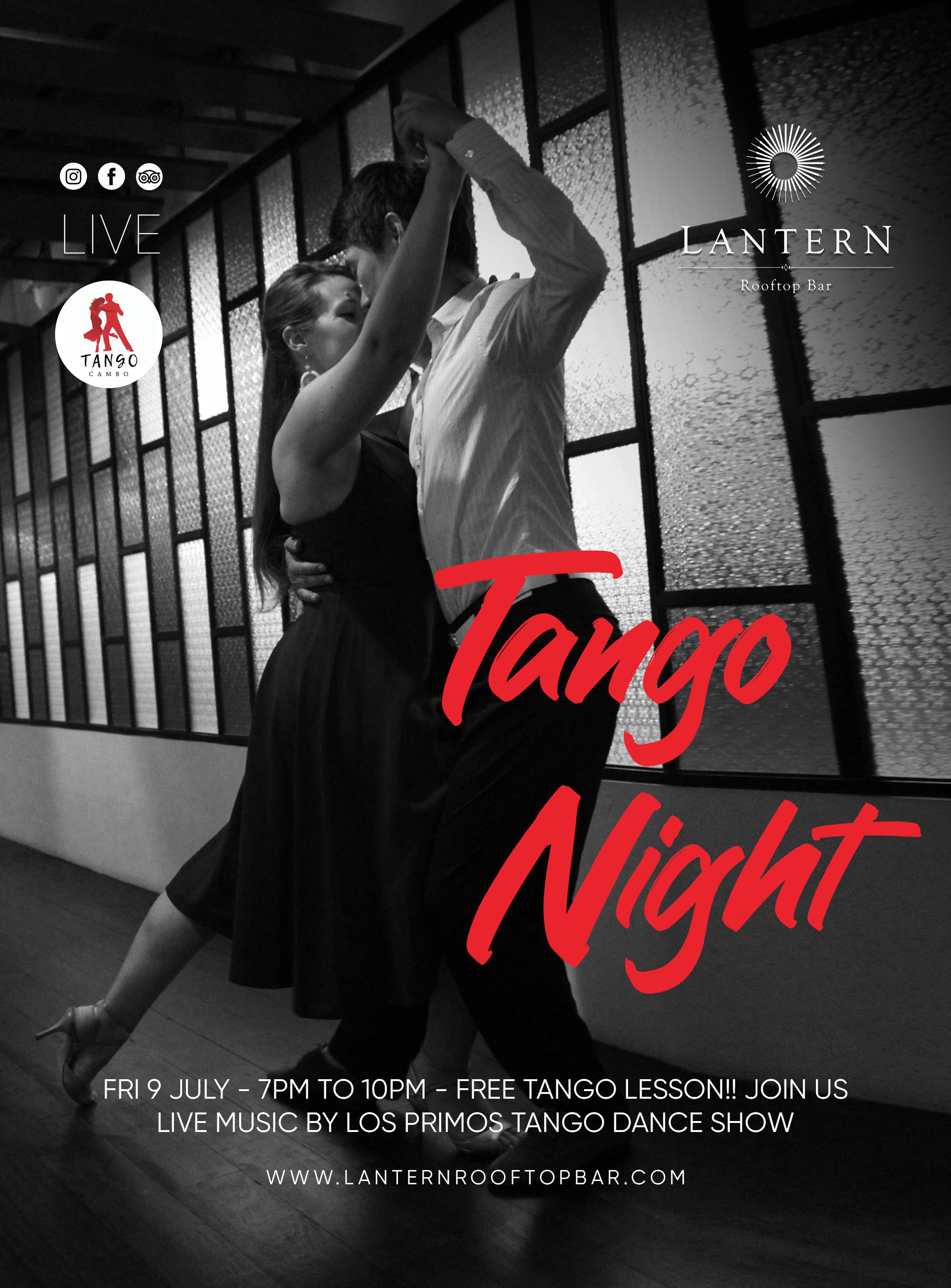 Tango Night at Lantern Rooftop Bar