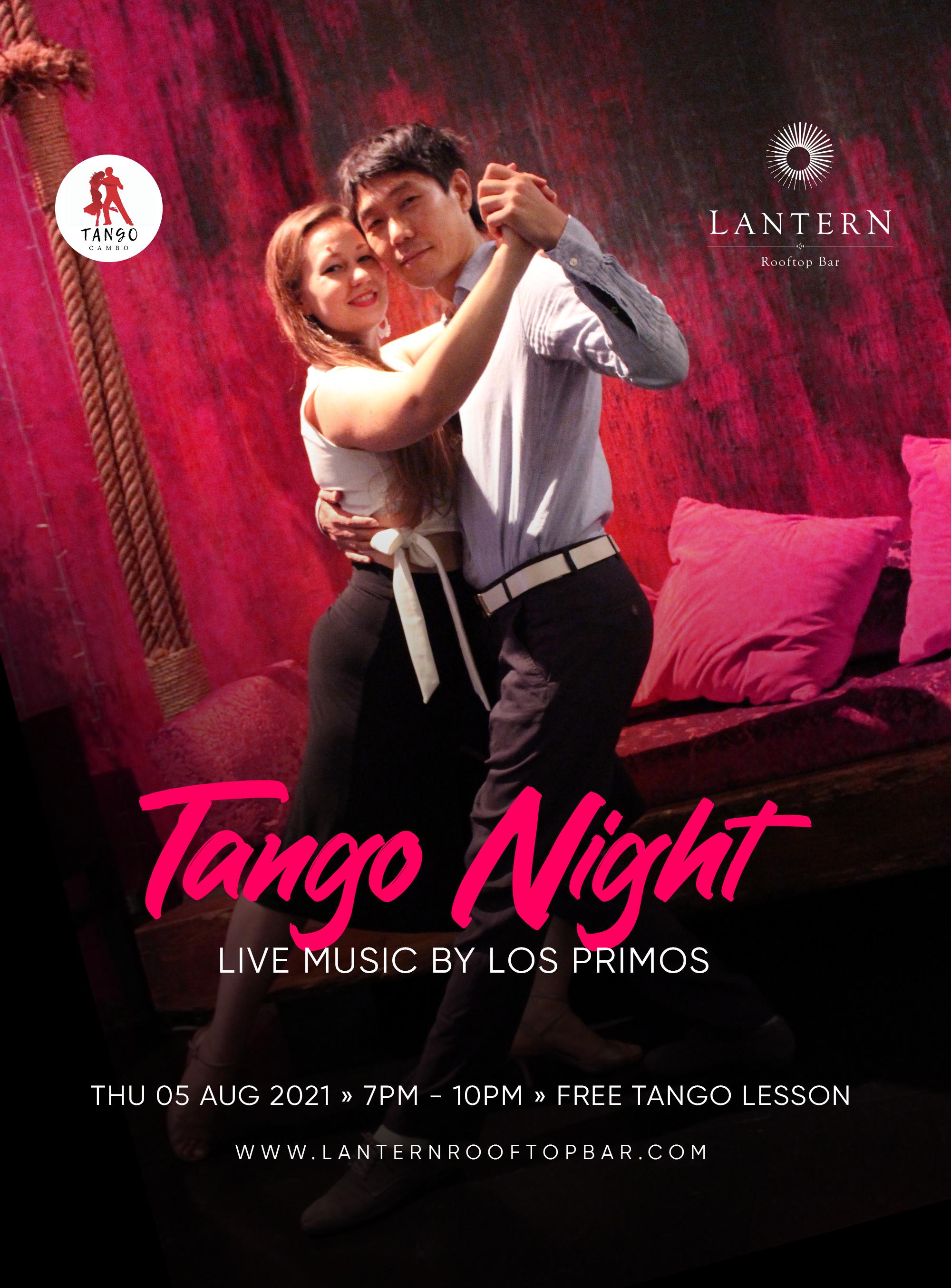 Tango Night – Thursday 5 August 2021