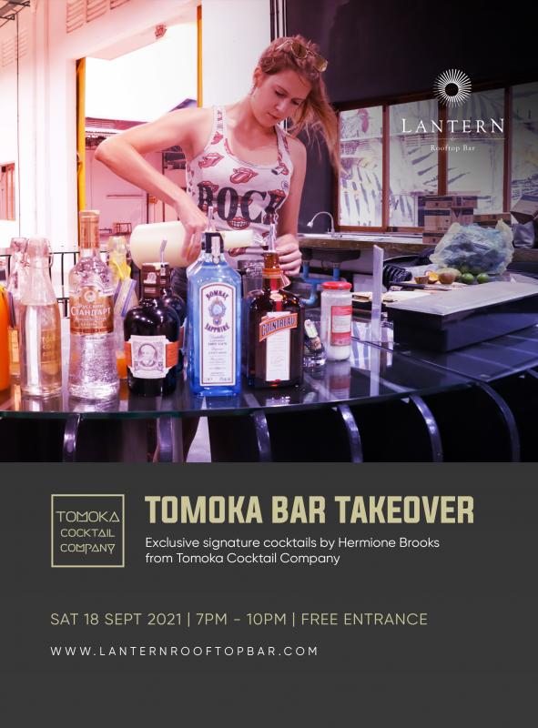 Tomoka bar takeover Lantern Rooftop Bar