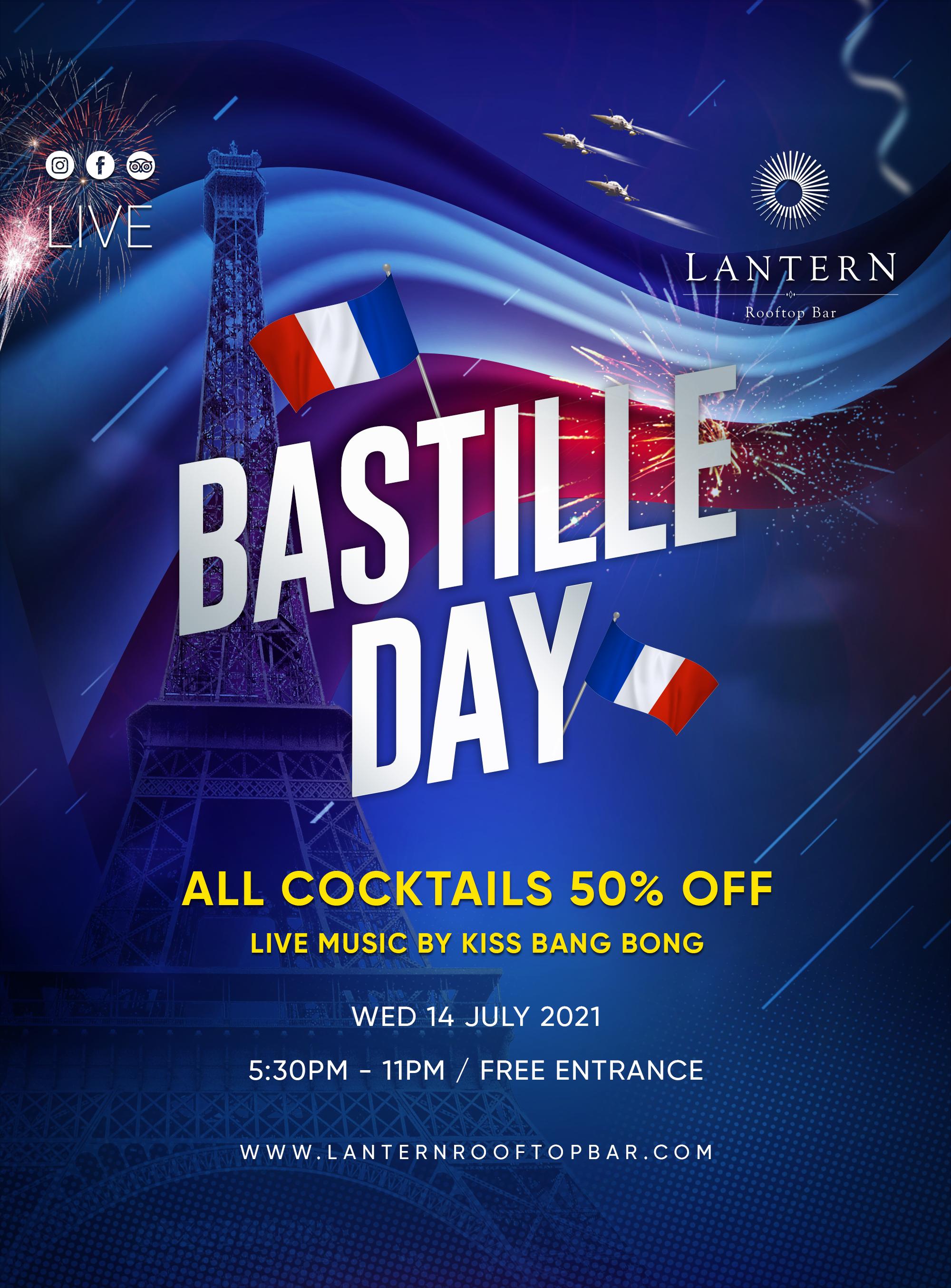 Lantern Bastille Dy 14 July 2021