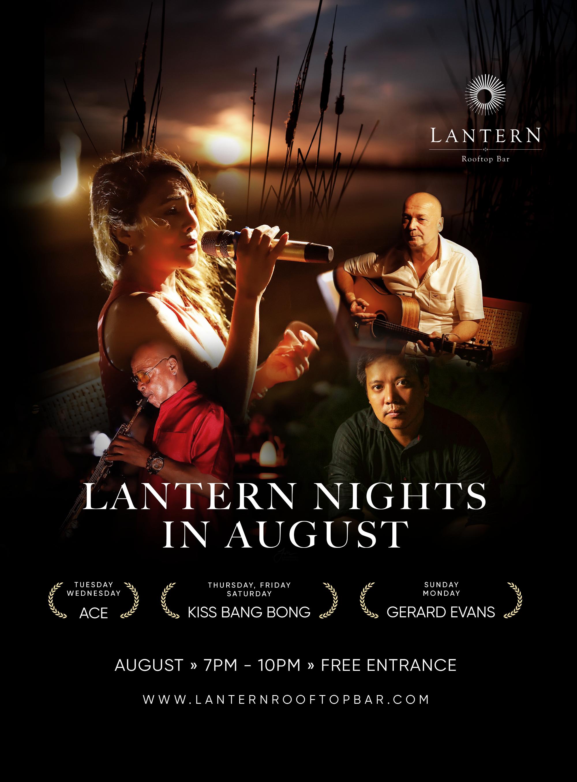 August Lantern Nights – Live music 7 days a week!